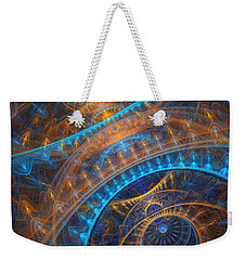 Astronomical Clock Weekender Tote Bag