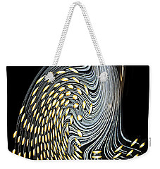 Weekender Tote Bag featuring the photograph Asymmetry by Kristin Elmquist
