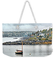 At Anchor - Maine Weekender Tote Bag