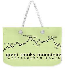 At Elevation Profile Gsm Weekender Tote Bag by Heather Applegate