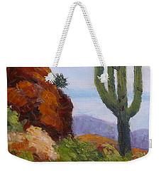 At Javelina Rocks Weekender Tote Bag