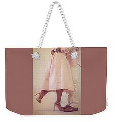 At Last Weekender Tote Bag by Stefanie Silva
