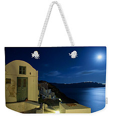 At Midnight Weekender Tote Bag by Aiolos Greek Collections