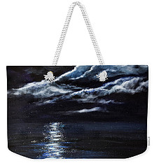 At Moonlight Weekender Tote Bag