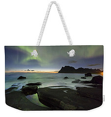 At Night Weekender Tote Bag by Alex Conu