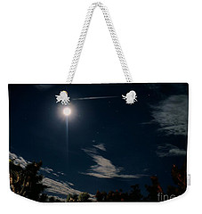 At Night Weekender Tote Bag by Angela J Wright
