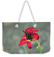At One With The Orchid 2 Weekender Tote Bag