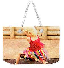 At Play 1 Weekender Tote Bag