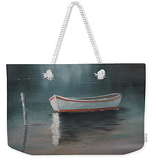 Weekender Tote Bag featuring the painting At Rest by Chris Fraser