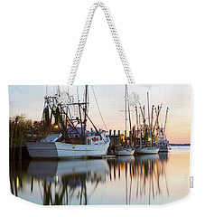 At Rest - Shem Creek Weekender Tote Bag