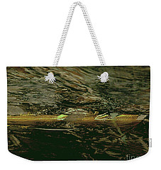 Weekender Tote Bag featuring the painting At Sea by Nancy Kane Chapman