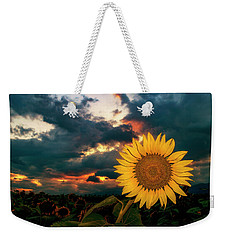 At Sunset Weekender Tote Bag