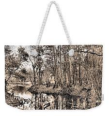 At Swamps Edge Weekender Tote Bag by Kristin Elmquist