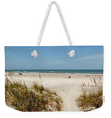 On The Beach Weekender Tote Bag by Amar Sheow
