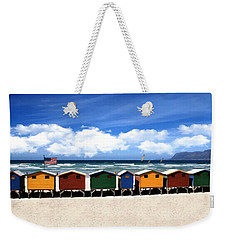 Weekender Tote Bag featuring the photograph At The Beach by David Dehner