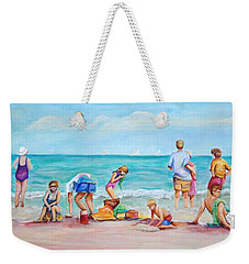 At The Beach Weekender Tote Bag