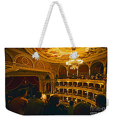 At The Budapest Opera House Weekender Tote Bag