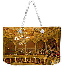 At The Budapest Opera Weekender Tote Bag
