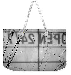 Weekender Tote Bag featuring the photograph At The Car Wash by Colleen Coccia
