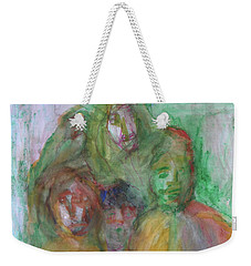 At The Christmas Party Weekender Tote Bag