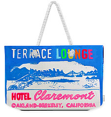 At The Claremont Hotel Weekender Tote Bag by Beth Saffer