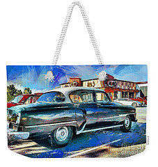 At The Drive-in Weekender Tote Bag