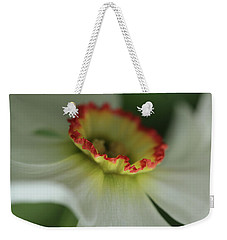 At The Edge Of The Crater Weekender Tote Bag by Connie Handscomb