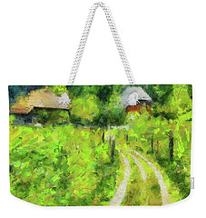 At The End Of The Valley Weekender Tote Bag