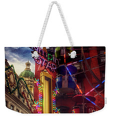 At The Feast Of San Gennaro - Colors Of Joy Weekender Tote Bag