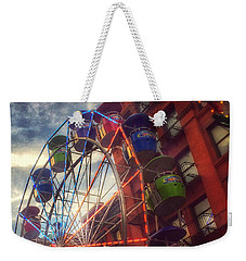 At The Feast Of San Gennaro - Reaching For The Sky Weekender Tote Bag