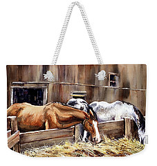 At The Feed Bank Weekender Tote Bag