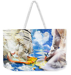At The Feet Of Jesus Weekender Tote Bag