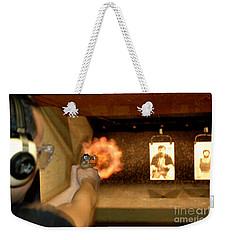 At The Gun Gange Weekender Tote Bag by Micah May