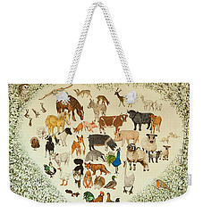 At The Heart Of It All Weekender Tote Bag by Pat Scott
