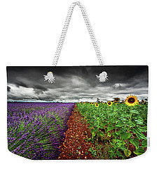 At The Middle Weekender Tote Bag