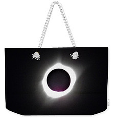 At The Moment Of Totality Weekender Tote Bag