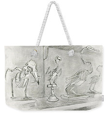 Bird Skeletons Weekender Tote Bag
