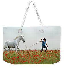 At The Poppies' Field... 2 Weekender Tote Bag
