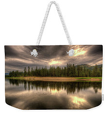 At The River Weekender Tote Bag by Loni Collins