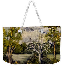 At The Rock Quarry Weekender Tote Bag by Jim Phillips