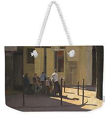 At The Street Cafe Weekender Tote Bag