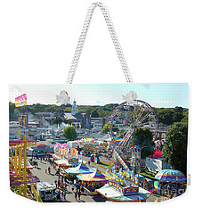 At The Top Of The World Weekender Tote Bag