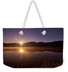 At The Waters Edge2 Weekender Tote Bag