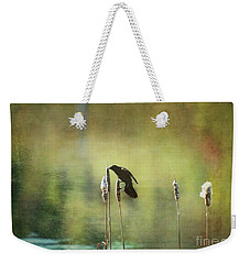 At This Moment Weekender Tote Bag by Aimelle