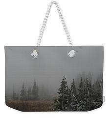At Winter's Door Weekender Tote Bag