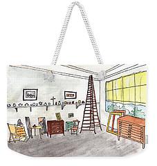 Atelier Of Paul Cezanne Weekender Tote Bag