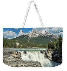 Athabasca Falls Weekender Tote Bag