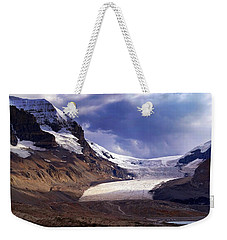 Athabasca Glacier Weekender Tote Bag by Heather Vopni