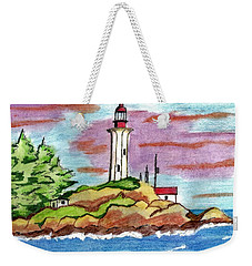 Atkinson Point Lighthouse Weekender Tote Bag