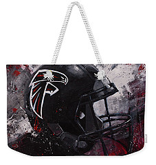 Atlanta Falcons Football Wall Art Falcons Fan Gift Weekender Tote Bag